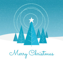 Merry Christmas card or social media greeting