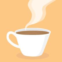 coffee mug steam