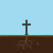 rooted cross