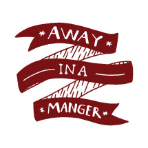 Away in a manger banner