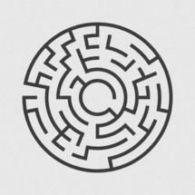 circular maze
