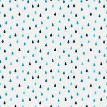 raindrops pattern illustration.