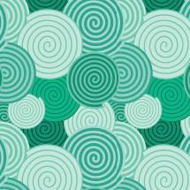 spiral pattern green