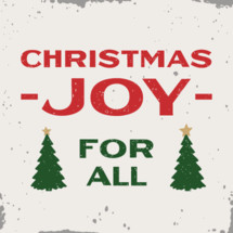 Christmas Joy modern farmhouse sign with Christmas trees