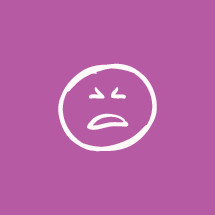 yelling emoji