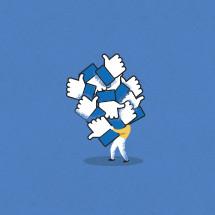 collecting social media likes