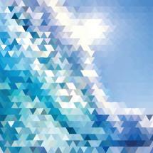 triangular waves pattern