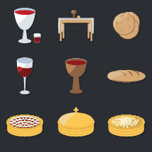 communion icons
