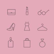 feminine icons