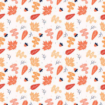 fall leaf pattern