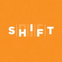 shift word logo