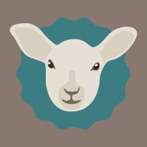 lamb badge