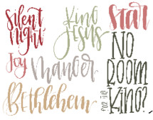Silent Night, Bethlehem, No room for the King, manger, joy, star, King Jesus