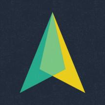 arrow north
