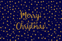Merry Christmas and star pattern background