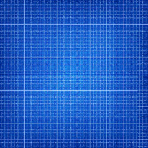 Blueprint grids background. Graph paper background. Engineering paper. 5 squares per inch. Blue background. The graphic element saved as a vector illustration in the EPS file format for used in your design projects.