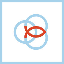 Trinity ichthus symbol.