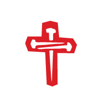 red cross of nails