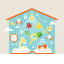 home school, education, school, open Book, book, pages, learning, discovery, back to school, house