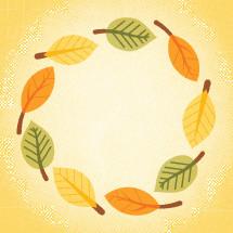 fall leaf framing