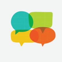 speech bubbles for conversation