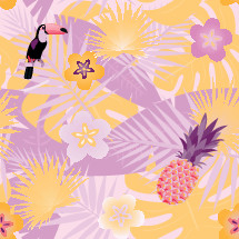 tropical themed pattern