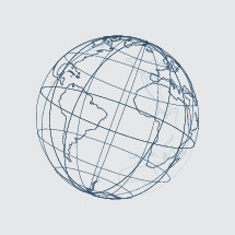 Vector Illustration of a Globe.