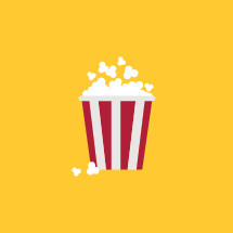 popcorn illustration.
