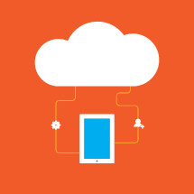 technology cloud connection.