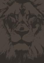 lion head vector illustration.