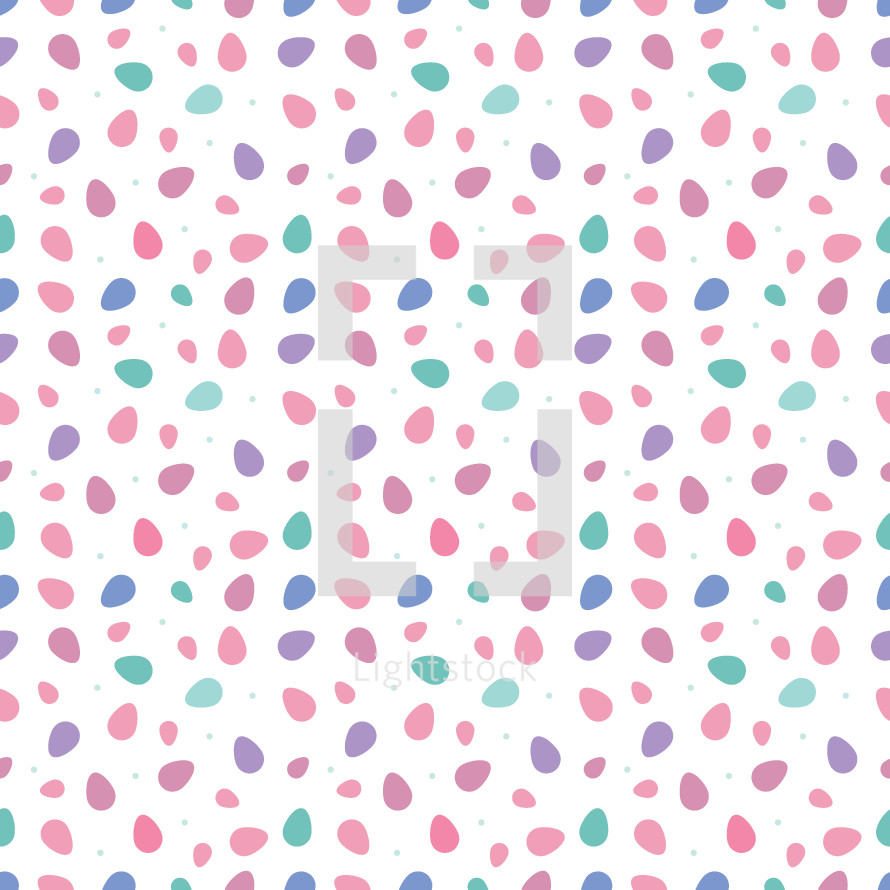 Easter egg pattern background