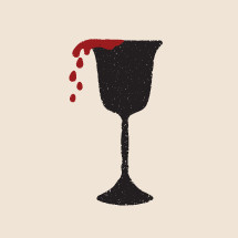 communion goblet illustration.