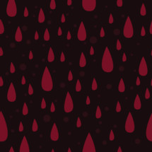 raining blood drops