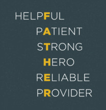father, helpful, patient, strong, hero, reliable, provider