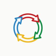cycle symbol icon.