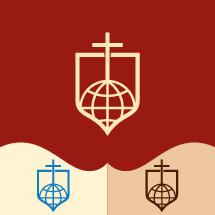 shield, globe, cross, logos, icon, missions