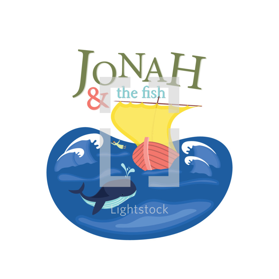 Jonah and the fish