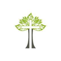 tree and cross icon