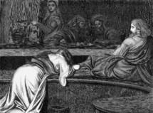 Woman Sinner seeking forgiveness