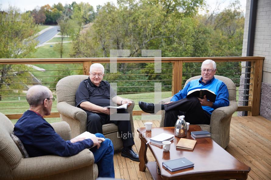 senior men's Bible study