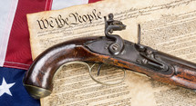 We The People and vintage gun