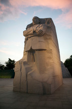 Martin Luther King monument.