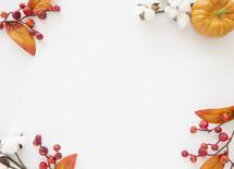 fall scene in corner