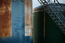 old storage tank