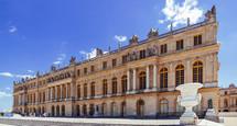 exterior of Versailles