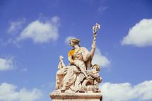 statue on Versailles