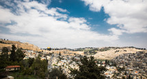 view of the holy land