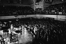concert in an auditorium