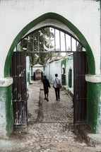 Islamic School entrance in Harar