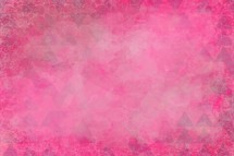 A background in shades of pink smudges.